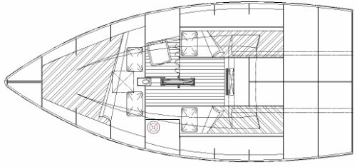 Didi Cruise-Mini radius chine plywood Mini-Transat boat plans
