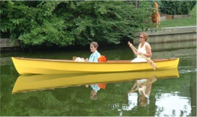 Lynnhaven 16 plywood canoe plans