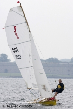 Paper Jet 14 sailing dinghy
