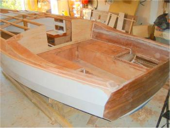 Cape Cutter 19 lapstrake plywood boat plans for amateur builders