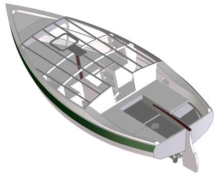 Cape Henry 21 GRP trailer sailer