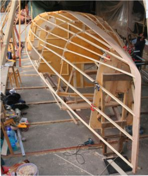 Didi 34 radius chine plywood boat plans for amateur builders