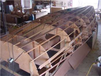 Didi 38 radius chine plywood boat plans for amateur builders