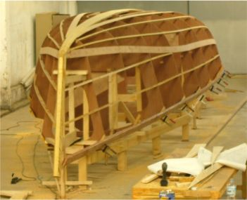 Didi 40cr radius chine plywood boat plans for amateur builders