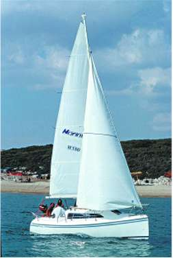 Windy 580 GRP cruiser/racer