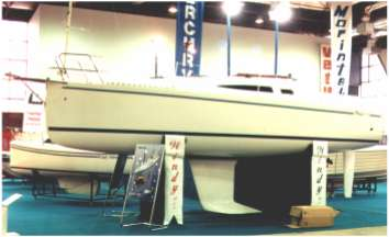 Windy 900 GRP production boat